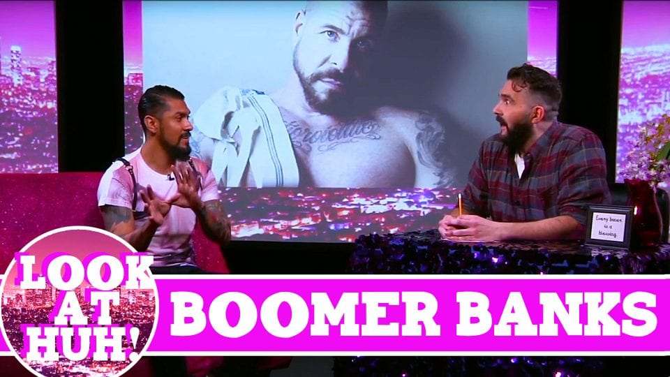 Boomer Banks LOOK AT HUH! On Hey Qween with Jonny McGovern