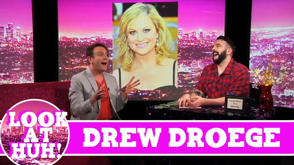 Drew Droge LOOK AT HUH! On Hey Qween with Jonny McGovern