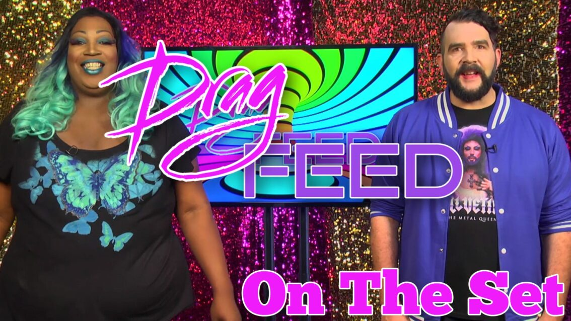 "Jonny McGovern & Lady Red Couture ""On The Set"" on Drag Feed"