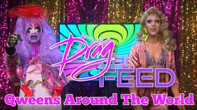"""Dani T & Juana Smoke Featuring The Hause Of Piss """"Qweens Around The World"""" 