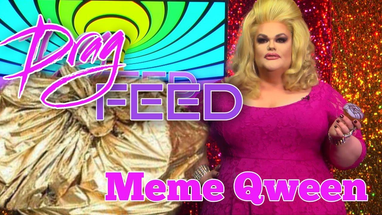 """Darienne Lake """"Meme Qween"""" on Drag Feed"""