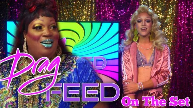 """Lady Red Outrageous Moments: Dani T """"On The Set""""  on Drag Feed"""
