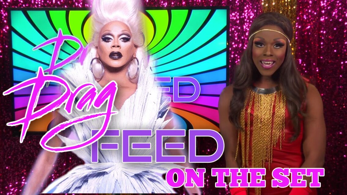 "RUPAUL ON HEY QWEEN! Samantha Starr ""On The Set"" on Drag Feed"
