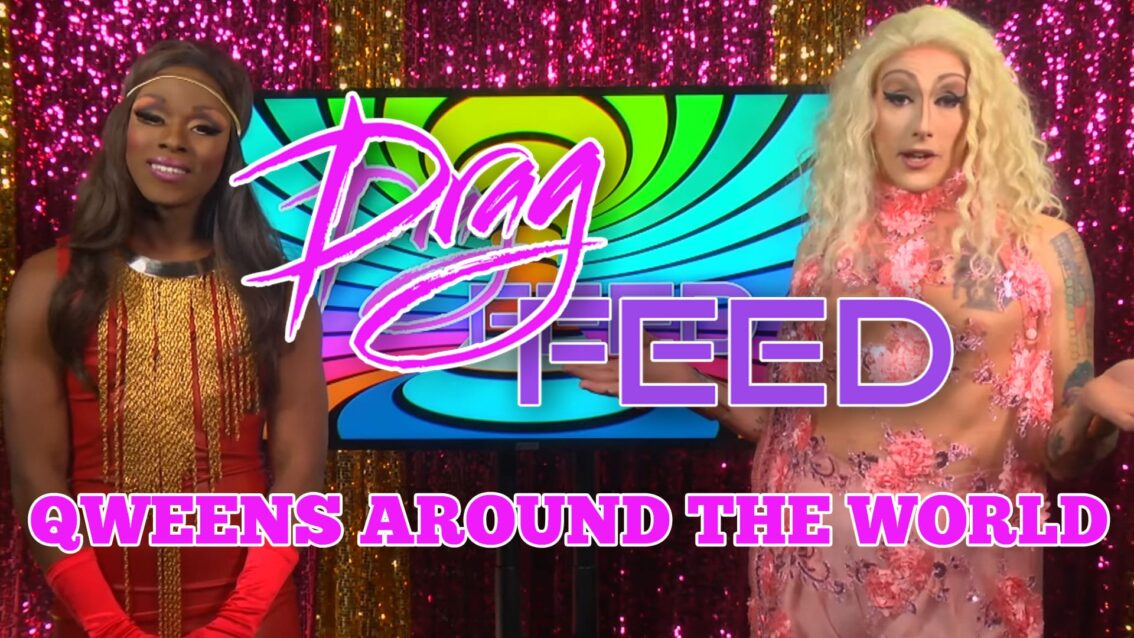 "Maebe A. Girl & Samantha Starr ""Qweens Around The World"" Featuring  