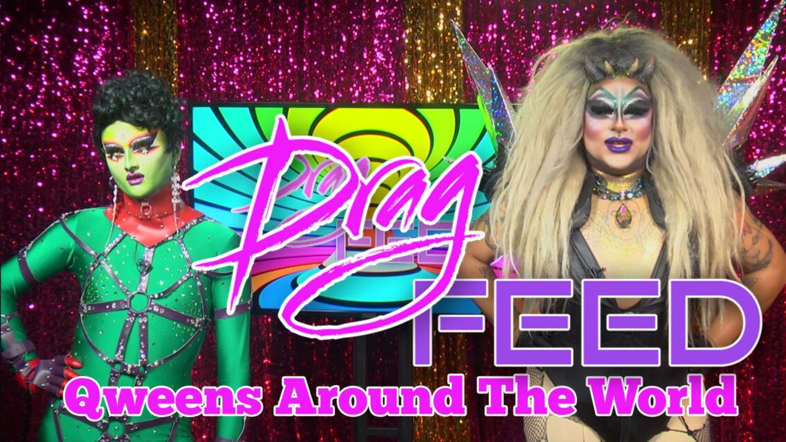"Frankie Doom & Loris ""Qweens Around The World"" Featuring Cheddar Gorgeous, Liquorice Black, and Anna Phylactic 