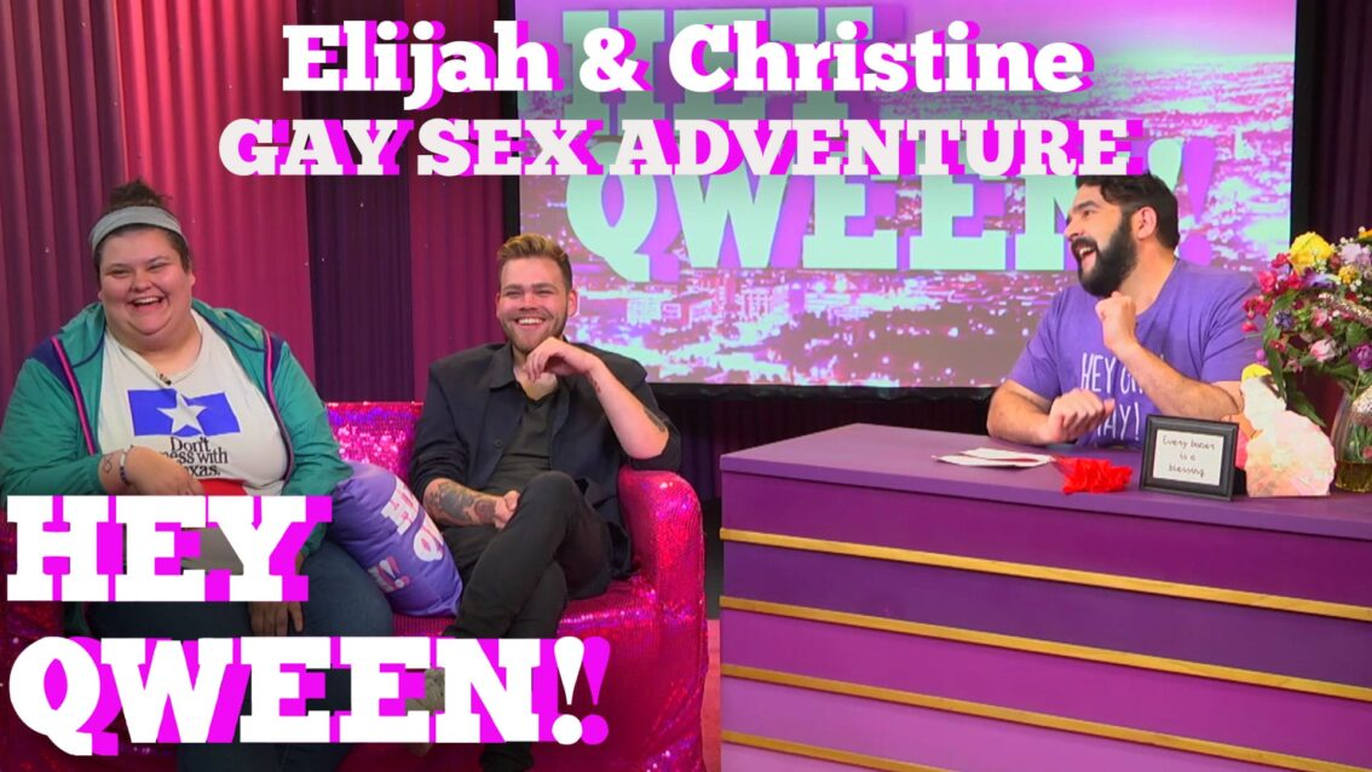 Elijah Daniels' NYC Gay Sex Adventure: Hey Qween! HIGHLIGHT!