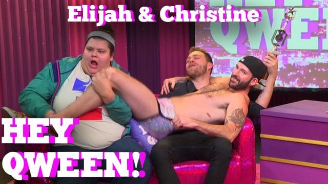 ELIJAH DANIEL & CHRISTINE SYDELKO on HEY QWEEN!