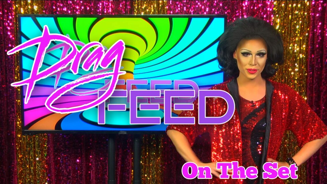 """Trixie Mattel and Shangela:  RUTURNING QWEENS """"On The Set"""" 