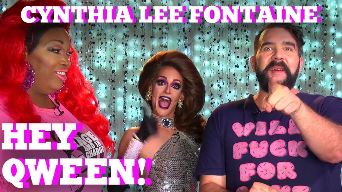 CYNTHIA LEE FONTAINE on HEY QWEEN! PROMO!