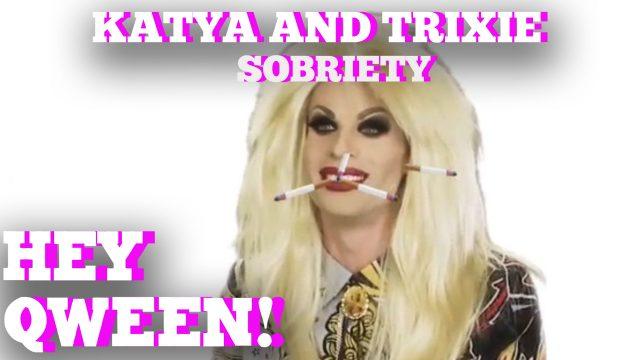 Katya's Sobriety Struggle! Hey Qween! Highlight!
