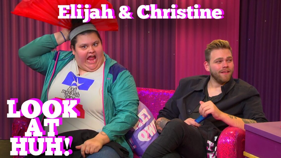 ELIJAH DANIEL & CHRISTINE SYDELKO on LOOK AT HUH!