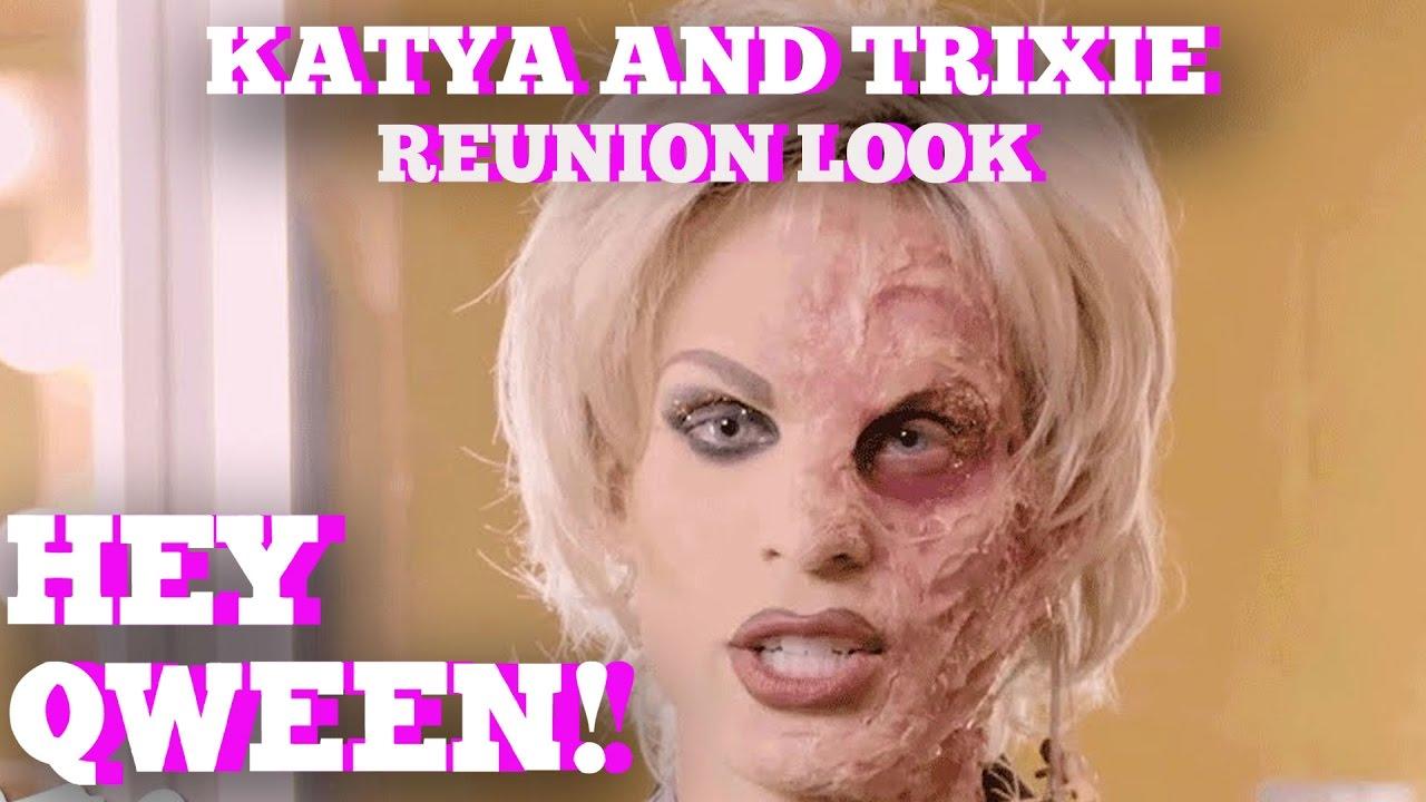 Katya's Rupaul's Drag Race All Stars Reunion Look Inspiration: Hey Qween! BONUS