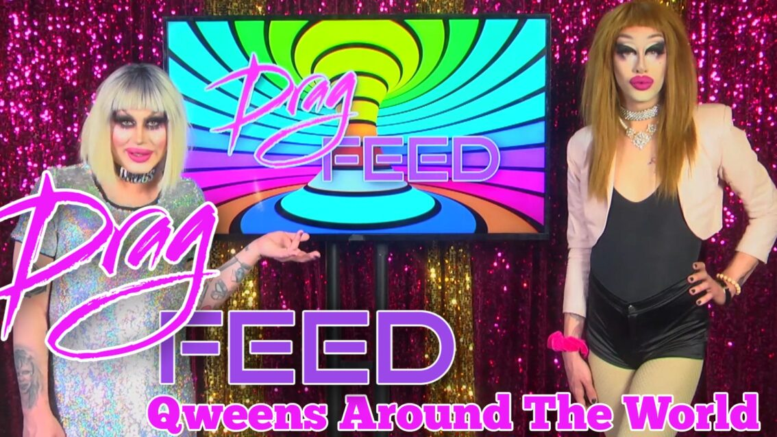 """BIO QWEENS! with Rubber Child and Lisa Limbaugh """"Qweens Around The World"""" 