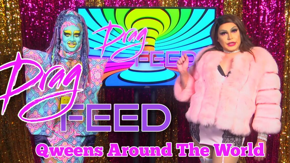 """Qweens of THE REVOLUTION! """"QWEENS AROUND THE WORLD"""" With Valentine Anger and Chloe Darling 