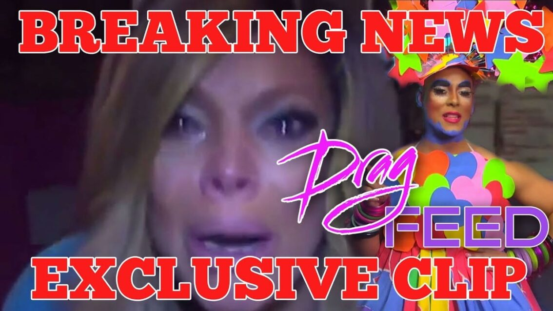 EXCLUSIVE: WENDY WILLIAMS EXPOSED! ERICKATOURE TELLS ALL on Drag Feed! with Jonny McGovern!