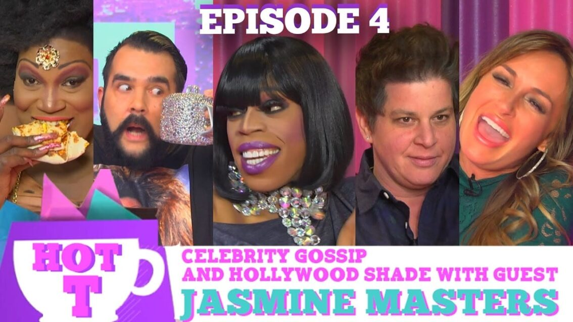 RUPAULS DRAG RACE'S JASMINE MASTERS on HOT T!