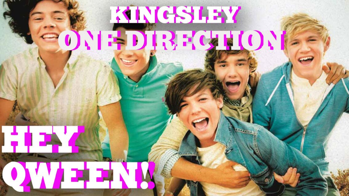 Kingsley On Crazy One Direction Fans: Hey Qween! HIGHLIGHT