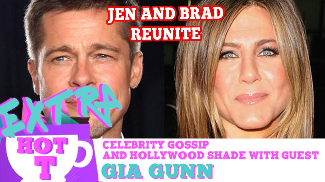 Jennifer Aniston & Brad Pitt Secretly Unit: Extra Hot T