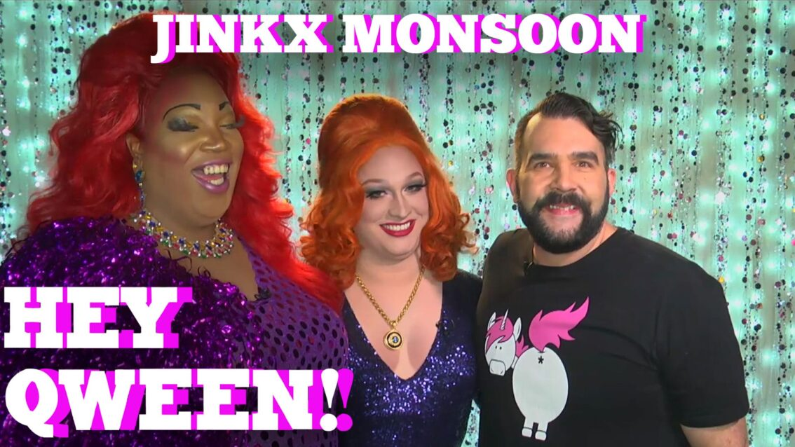 JINKX MONSOON on HEY QWEEN! PROMO