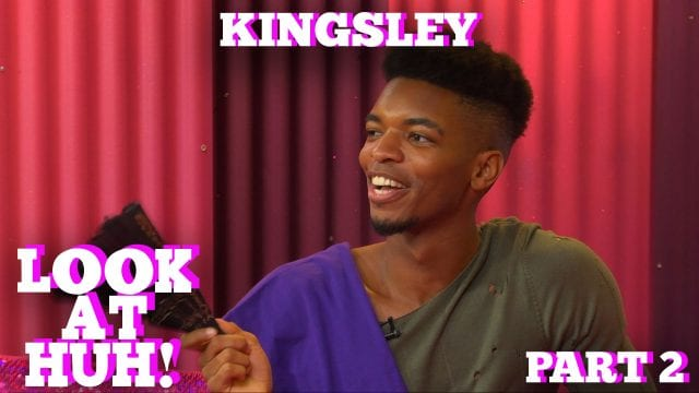 KINGSLEY on LOOK AT HUH! Part 2