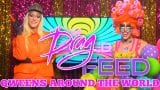 "SIA LOVES NINA WEST and Virginia West QUEEN SATEEN and MORE! ""Qweens Around The World"" 