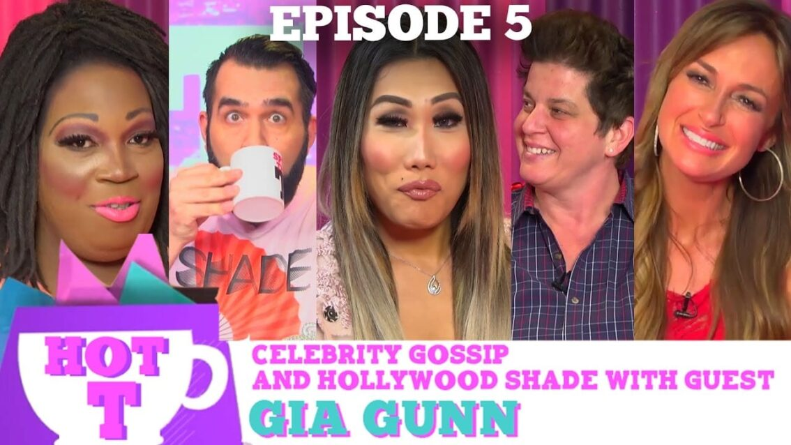 RUPAULS DRAG RACE'S GIA GUNN on HOT T!