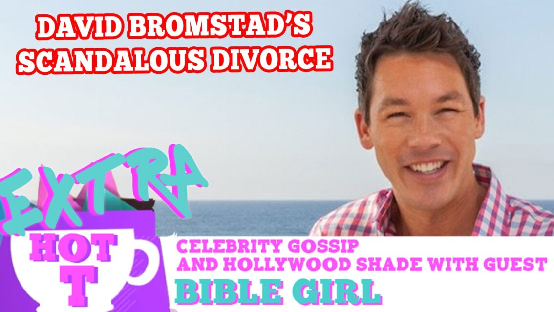 HGTV Star David Bromstad's Scandalous Divorce: Extra Hot T with Bible Girl