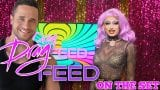 "RUPAULS DRAG RACE PIT CREW MOMENTS! ""On The Set"" 