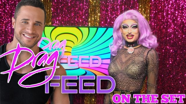 """RUPAULS DRAG RACE PIT CREW MOMENTS! """"On The Set""""   Drag Feed"""