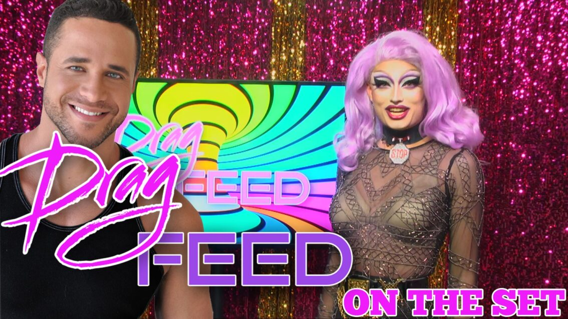 """RUPAULS DRAG RACE PIT CREW MOMENTS! """"On The Set"""" 