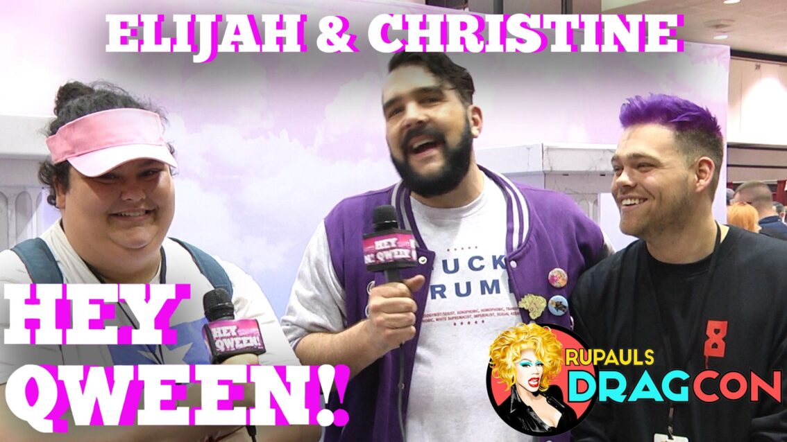 Elijah & Christine's Drag Race S9 Predictions At DragCon 2017 On Hey Qween!