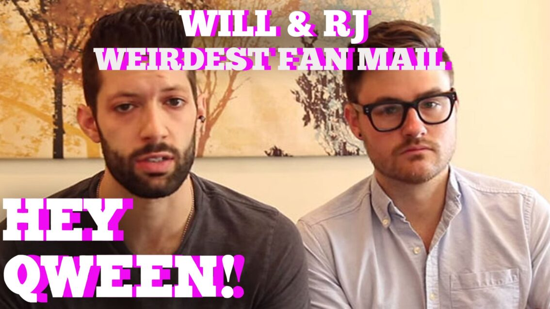 Will & RJ's Weirdest Fan Mail Ever!!: Hey Qween BONUS