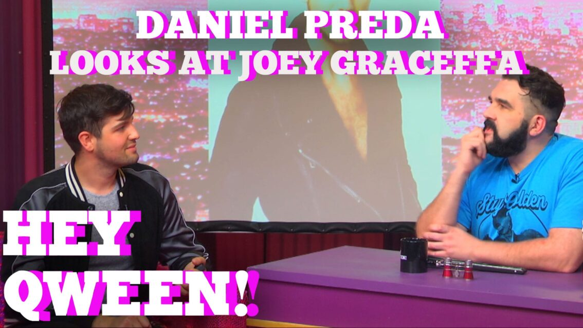 Daniel Preda Looks At Joey Graceffa: Hey Qween Highlight