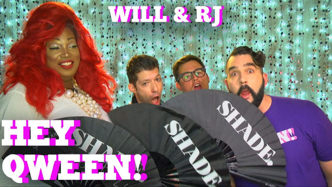 WILL & RJ on HEY QWEEN! with Jonny McGovern PROMO