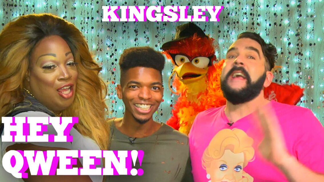 KINGSLEY on HEY QWEEN! with Jonny McGovern PROMO