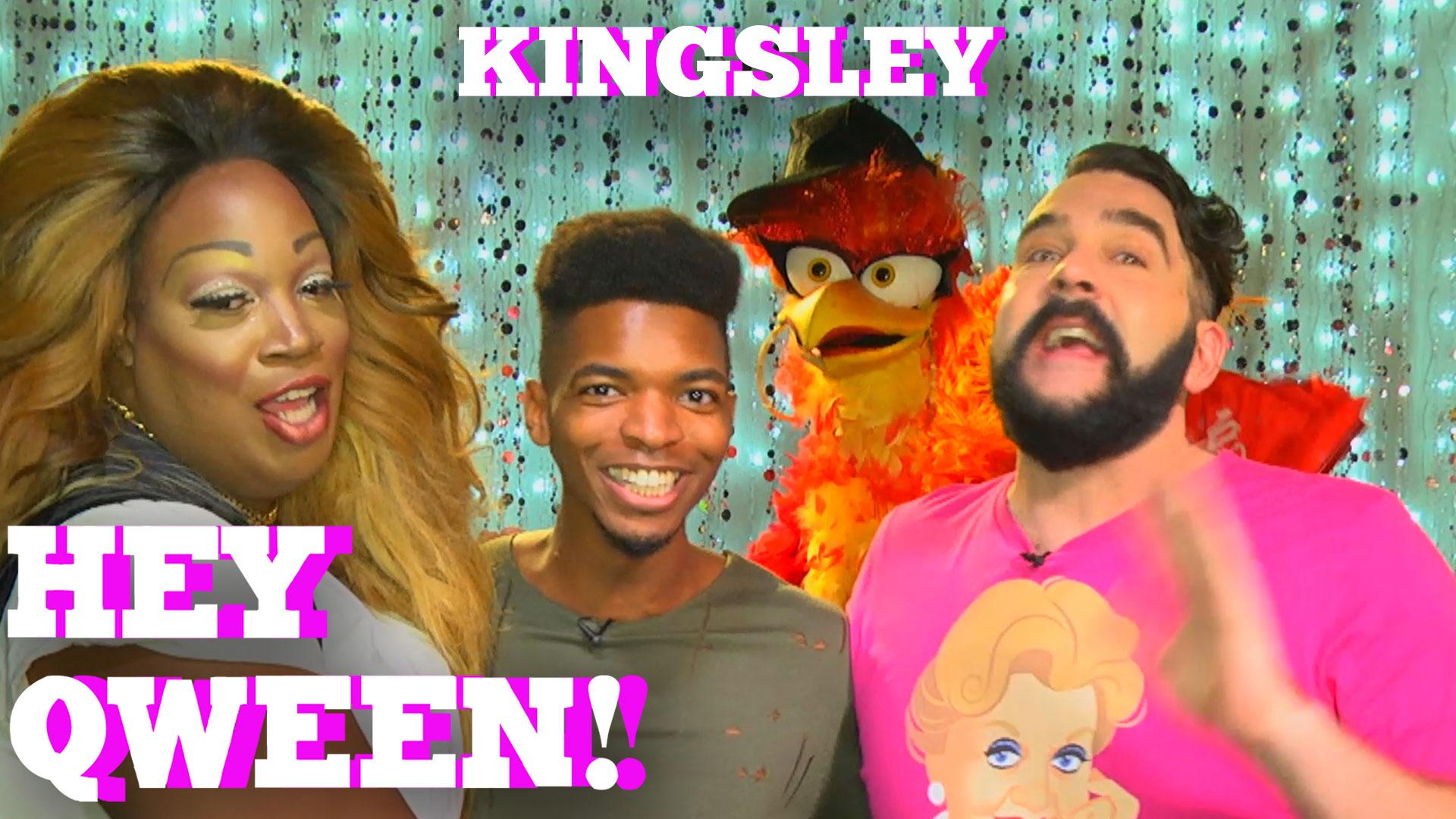 KINGSLEY on HEY QWEEN! with Jonny McGovern PROMO