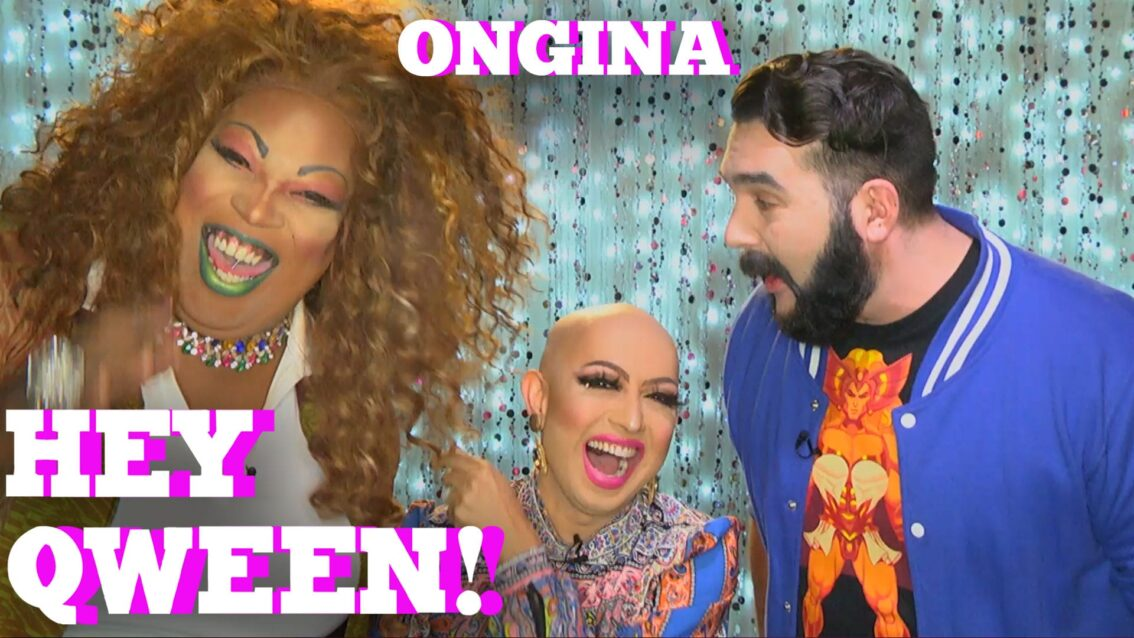 RuPaul's Drag Race Star ONGINA on HEY QWEEN with Jonny McGovern PROMO