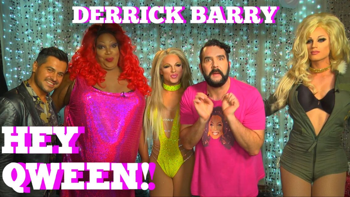 DERRICK BARRY on HEY QWEEN! with Jonny McGovern PROMO