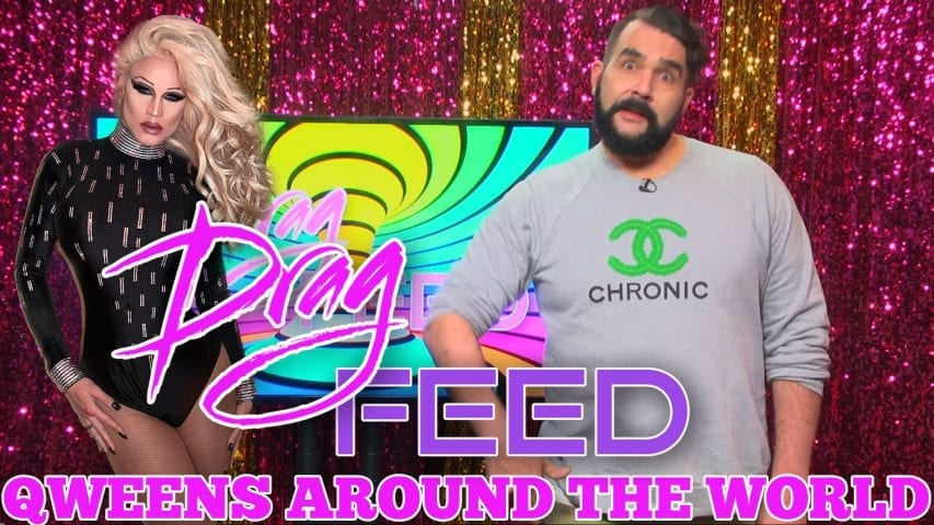 """NEBRASKA THUNDERFUCK AND MORE BUFF QUEENS! """"Queens Around The World""""   Drag Feed Photo"""