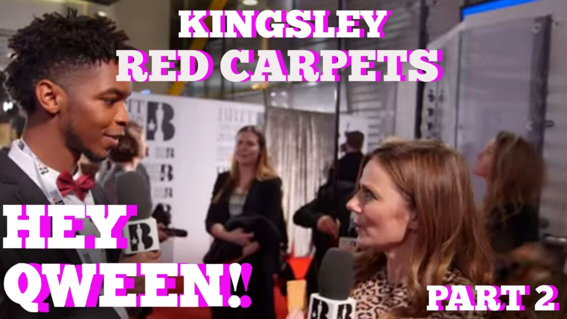 Kingsley On His Best & Worst Red Carpet Run Ins: Hey Qween! HIGHLIGHT