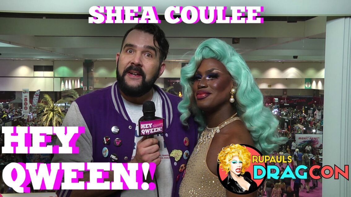 Shea Coulee at DragCon 2017! on Hey Qween!