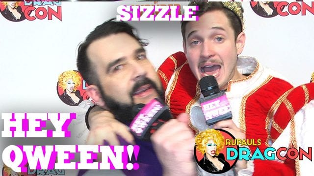 Bob's Assistant, Ongina, Dida Ritz, AND MORE SIZZLE At DragCon 2017 On Hey Qween!