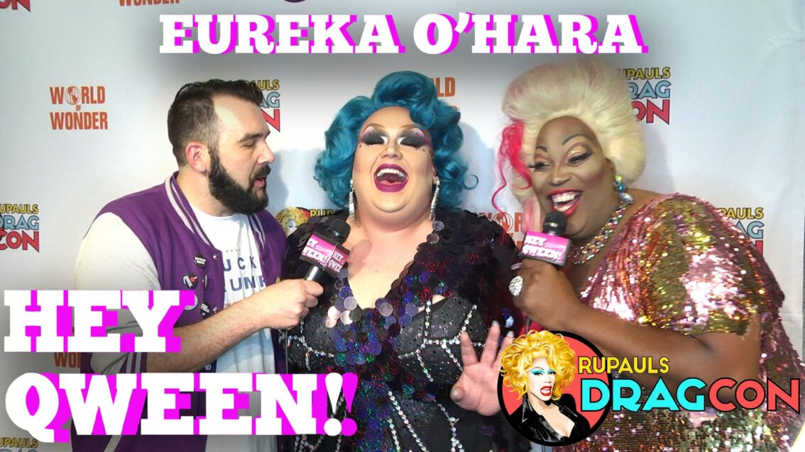 Eureka O'Hara At DragCon 2017 On Hey Qween!