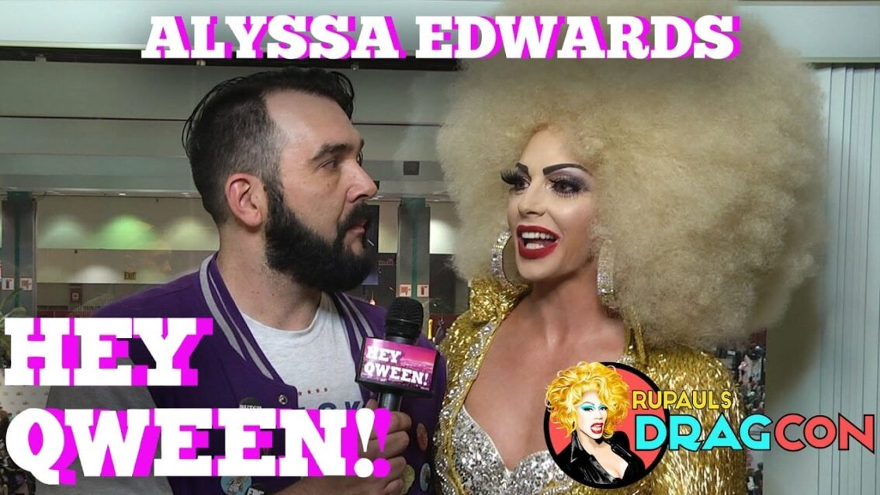 Alyssa Edwards at DragCon 2017! on Hey Qween!
