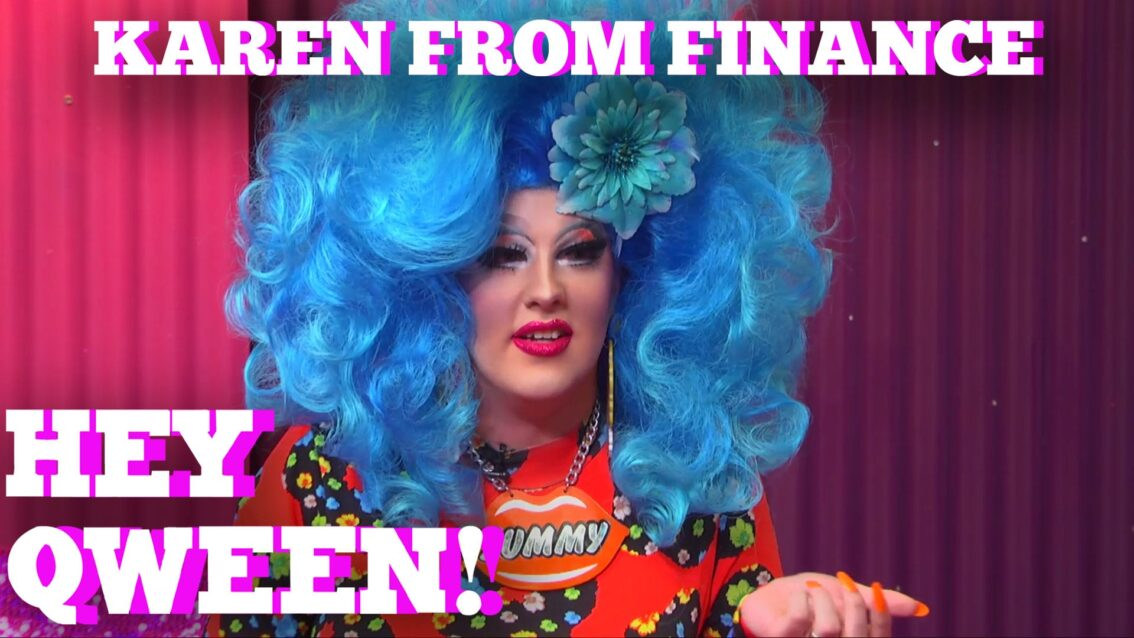 KAREN FROM FINANCE on HEY QWEEN 1 on 1 with Jonny McGovern