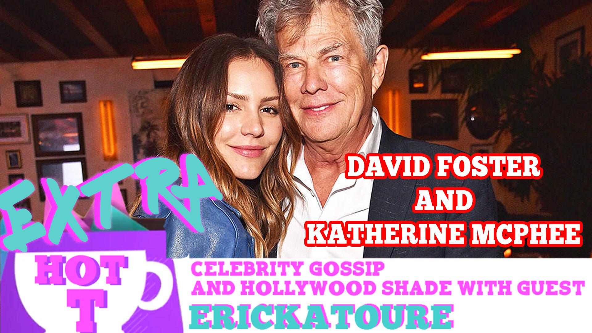 David Foster Chicken Hawkin Katherine McPhee: Extra Hot T with ERICKATOURE