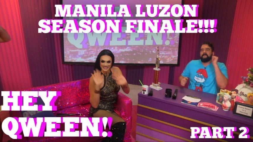 Rupaul's Drag Race All Star MANILA LUZON On Hey Qween SEASON 5 FINALE With Jonny McGovern Part 2 Photo