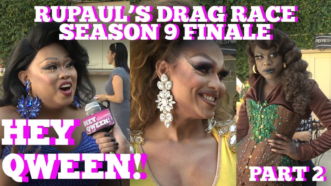 BOB, JIGGLY, MARIAH and MORE! on the RuPaul's Drag Race Season 9 Live Finale Red Carpet!