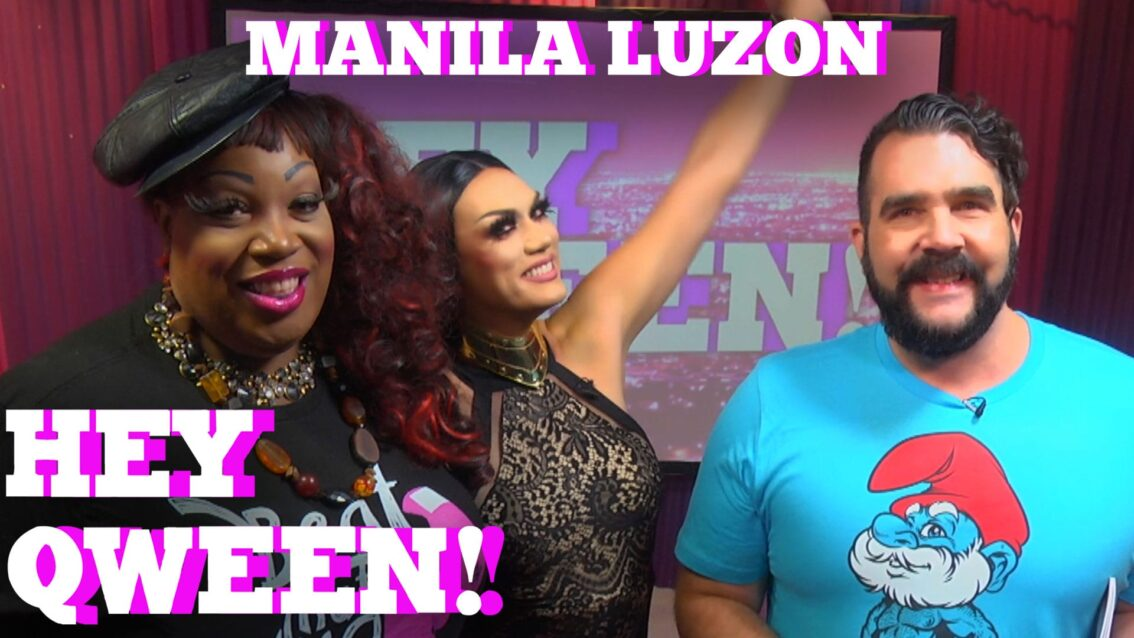 Rupaul's Drag Race All Star MANILA LUZON On Hey Qween SEASON 5 FINALE With Jonny McGovern PROMO