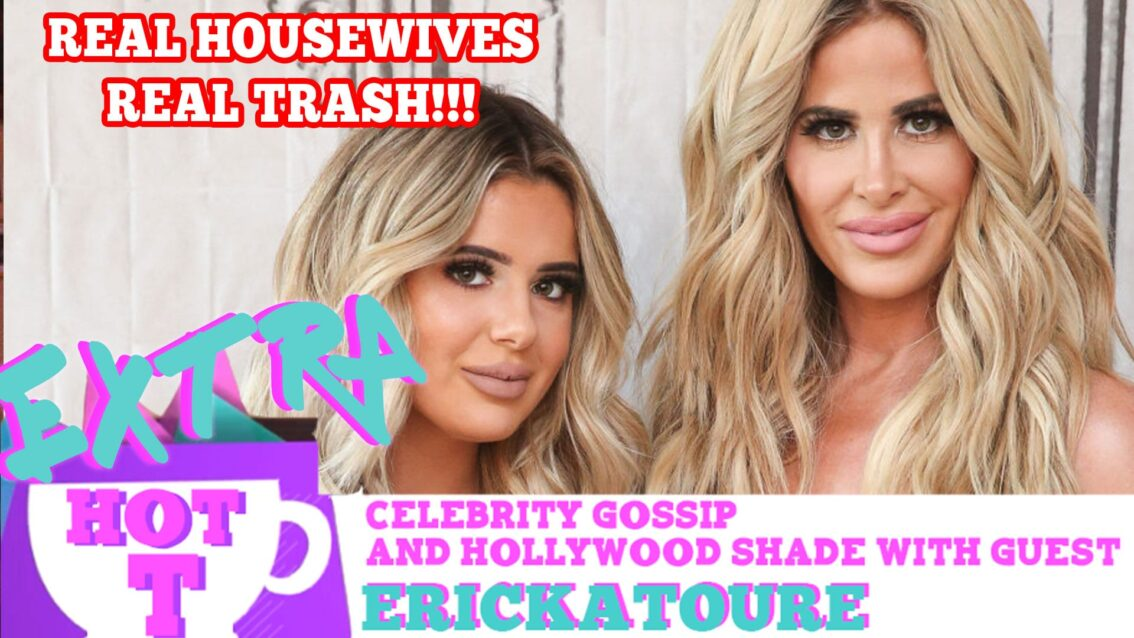 Real Housewife Is Real Trash!!: Extra Hot T with ERICKATOURE